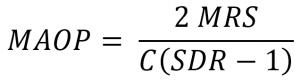 PE管道的最大允许运行压力(MAOP)(图3)