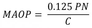 PE管道的最大允许运行压力(MAOP)(图2)